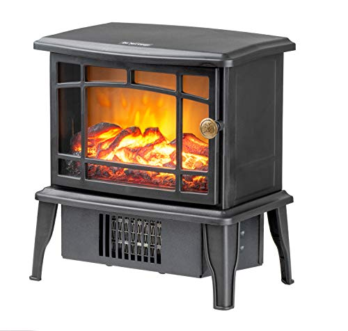 Climate Choice Portable Mini Fireplace Heater, 10