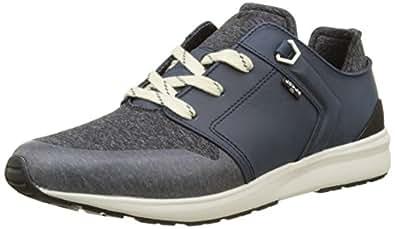 Levi'S Black Tab Runner, Zapatillas para Hombre, Azul (Dark Blue), 40 EU