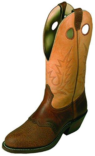 Bottes américaines - bottes western BO-2175-52-E (pied normal) - Homme - Beige/marron