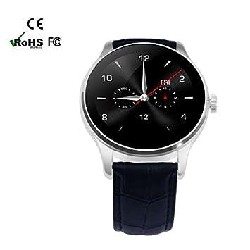Wearable Dispositivos Inteligente Del Reloj de Bluetooth Fitness Relojes,Call mensaje control/monitor de