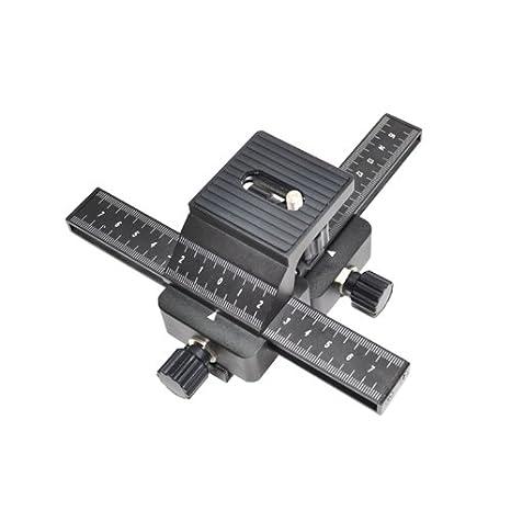 Kaavie FS-1 - Soporte con carril deslizante para trípodes, negro: Amazon.es: Electrónica