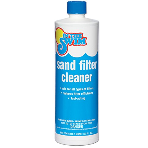 In The Swim Liquid Sand Pool Filter Cleaner - 1 Quart