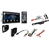 Chrysler Jeep Dodge DVD/CD/USB/Bluetooth System Car Radio Stereo With Backup Camera