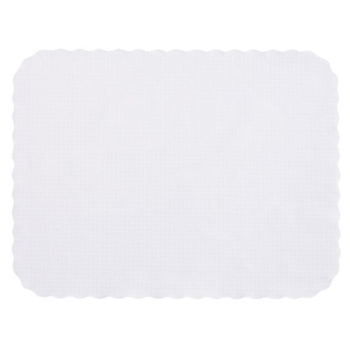 Hoffmaster TC32055 14'' x 19'' White Disposable Paper Tray Cover, Fits Trays 15'' x 20'' (Pack of 2000) by Hoffmaster (Image #1)