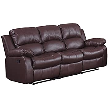 Groovy Amazon Com Homelegance Greeley Reclining Sofa Top Grain Download Free Architecture Designs Scobabritishbridgeorg
