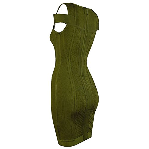 Grün rot Kleid Damen rot HLBCBG 36 q8wXAFxqR