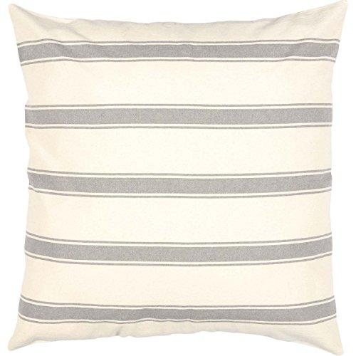 (Boho & Eclectic Farmhouse Bedding - Grace White Fabric Euro Sham)