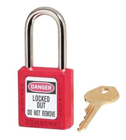 0aa04f63cf3 Master Lock 410KARED Keyed-Alike Safety Lockout Padlock