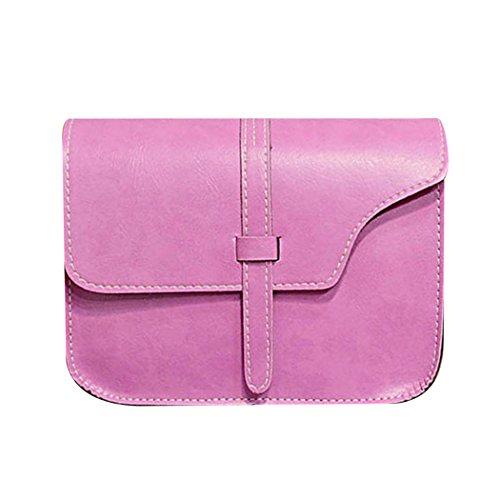 mini Porte main sac carré bandoulière à femme mioim portable asymétrie sac monnaie Rose à Rouge rétro petit sac téléphone Messenger sac encens de PHy7c