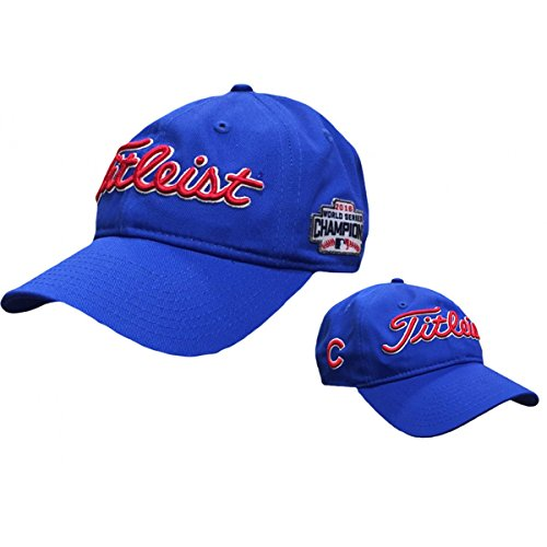 Titleist Limited Edition MLB Chicago Cubs World Series Champions Hat (Blue) Chicago Cubs Shop