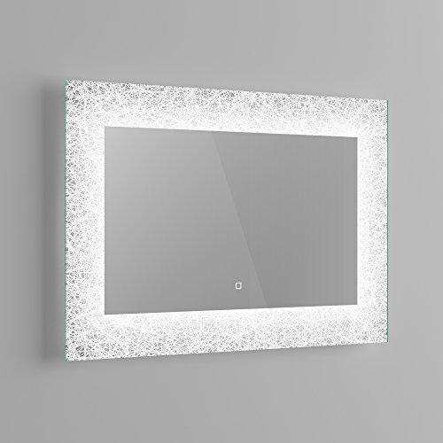 900 x 600 mm designer illuminated led bathroom mirror light sensor 900 x 600 mm designer illuminated led bathroom mirror light sensor demister ml7001 ibathuk amazon kitchen home aloadofball Image collections