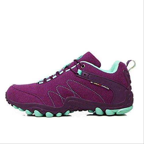Senderismo Sportszapatos Purple Casual Z Al amp;hx Deportivos Libre Aire Escalada Zapatos Yvq5v6