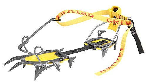 GRIVEL Air Tech Cramp-O-Matic Crampons Grey/Yellow Black One Size