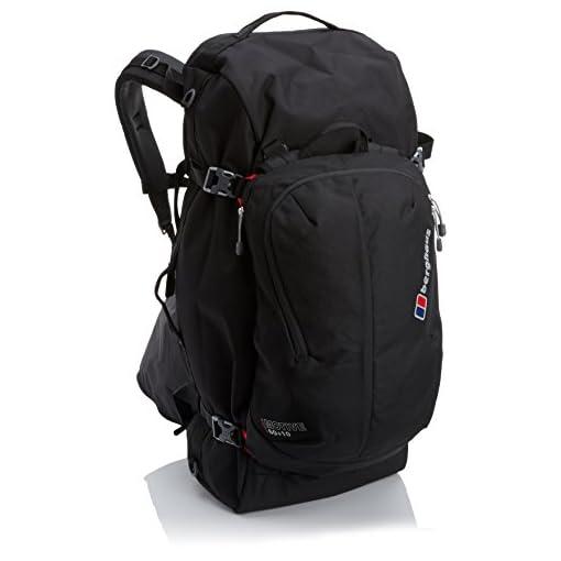 Berghaus Motive 60+10 hiking bag black
