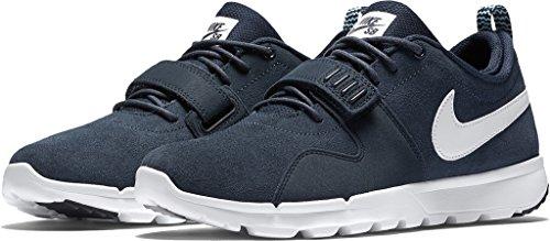 Nike Wmns Capri Ii, Damen Sneaker Anthracite/Bold Berry-white-black
