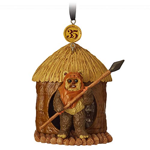 Star Wars Wicket Legacy Sketchbook Ornament - Star Wars: Return of The Jedi - Limited Release Mutli