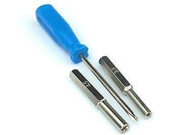 Silverhill Tools atk253 3,8 mm y 4,5 mm seguridad destornillador ...
