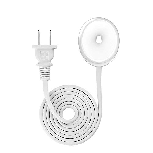 (JAWM Electric Toothbrush Replacement Charger, Long Cable, Travel Charger Base Holder, AC Powered, for Braun Oral-b, Model 3757, White)