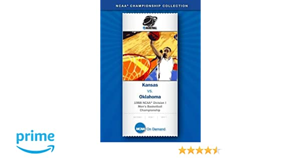 Amazon.com: 1988 NCAA(r) Division I Men's Basketball Championship ...