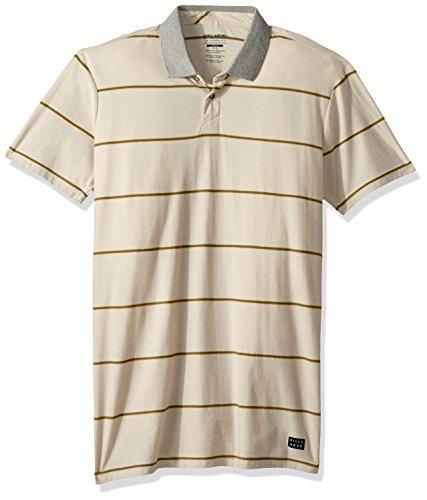 (Billabong Men's Die Cut Polo Shirt Stone X-Large)