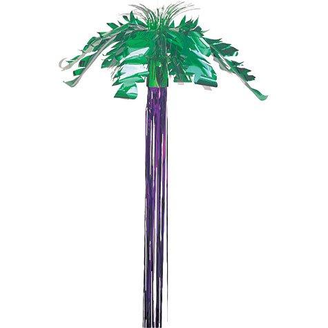 Amscan International Hanging Foil Decoration Palm Tree Hawaiian 24693