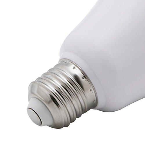 LIYUDL Remote Control Light Bulb Speaker, Music Bulb, E27 Base12W 6520K  Color Changing RGB LED Bulb, ...
