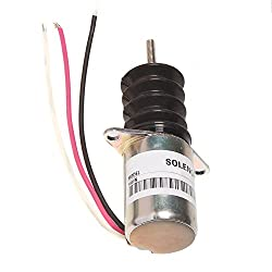 Fuel Shut Off Solenoid AM124377 for John Deere 655
