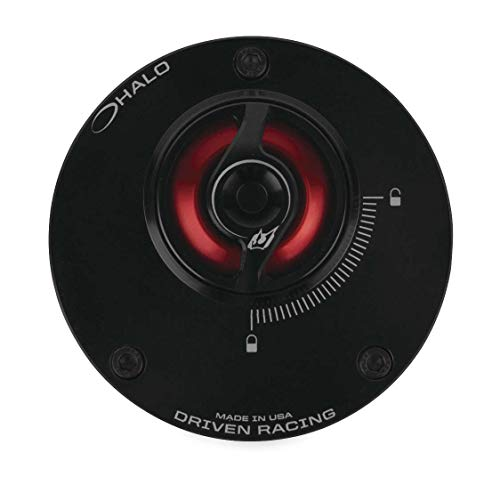 (Driven Racing DHFC-RD Halo Fuel Cap - Red)
