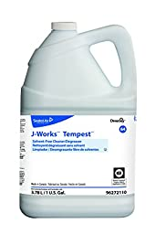 Diversey J-Works 96272110 Tempest Solvent Free Cleaner/Degreaser, 4 x 1 gal./3.78 L Containers (Pack of 4)