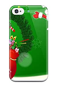 Evelyn C. Wingfield's Shop 4407836K79709828 Case Cover Skin For Iphone 4/4s (holiday Christmas)
