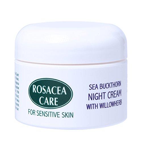 (Rosacea Care Night Cream - Nourishing, deep moisturizer for rosacea skin (1 Oz) )
