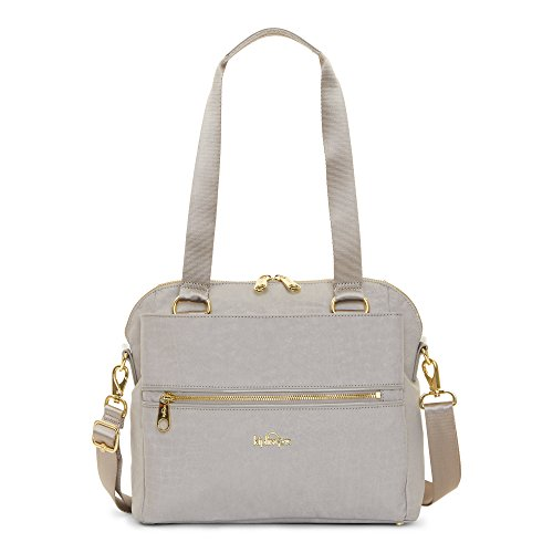 Kipling Women's Catelyn Printed Handbag One Size Slate Grey Croc by Kipling