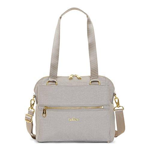 Kipling Women's Catelyn Printed Handbag One Size Slate Grey Croc by Kipling