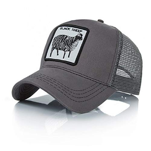 Fashion Adjustable Cotton Animal Farm Snap Trucker Hat,Baseball Cap for Men Woman (Multiple Styles)]()