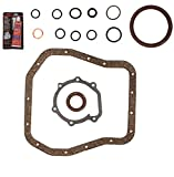 Oil Gasket Conversion Set for 1996-2003 Subaru Impreza Forester Legacy Outback 2.5L H4 Engine Code EJ25 by Detoti Auto