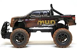 """New Bright 1:15 (11.5"""") Rc Mud Slinger Ford F-150(discontinued By Manufacturer)"""