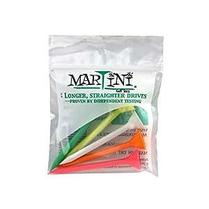 "Martini Golf 3-1/4"" Durable Plastic Tee 5-Pack"