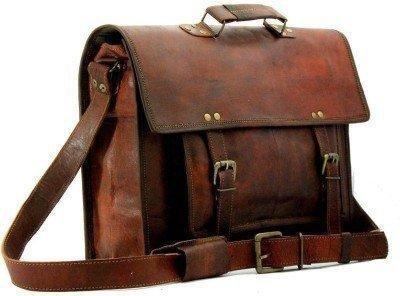 16db2cd4b2df TUZECH Pure Leather Bag Modern Light- Weight Messenger Satchel Bag ...