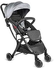 Besrey leicht Buggy Kinderwagen Reisebuggy einhand kompakt klappbar mit Liegeposition ab Geburt bis 3 Jahren + Regenverdeck