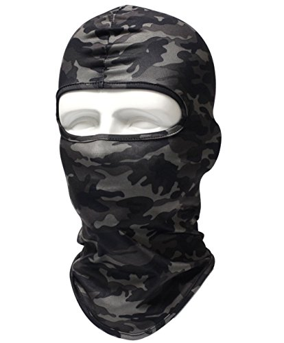 Dhana Style Sports Balaclava UV Protection Stretch Full Face Mask For All Outdoor Activities For Men and Women Type;AHT-FM - Type Face Men
