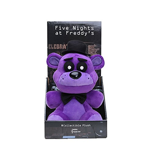 Panamat Movies & TV - 10inch 25cm Funtime Nightmare Five Nights at Freddy's 4 Plush Toys Neon FNAF Freddy Bear Foxy Chica Bonnie Lolbit Ballora Doll 1 PCs