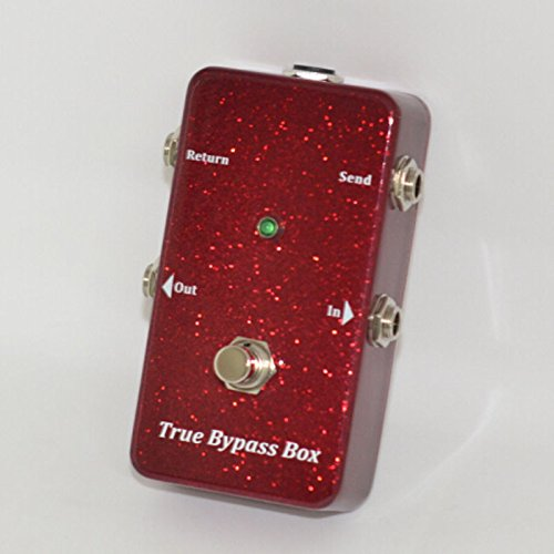 True Bypass Looper Guitar Effects Pedal Loop Switcher Box Looping Footswitch Vintage Red TTONE
