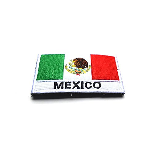 - Toonol Embroidery Badge Mexican National Flag Of Mexico Military Embroidered Badges Tactical Patch For Outdoor Clothing Cap Bag