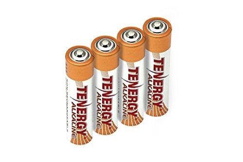 Tenergy 1.5V AAA Alkaline Battery, High Performance AAA Non-