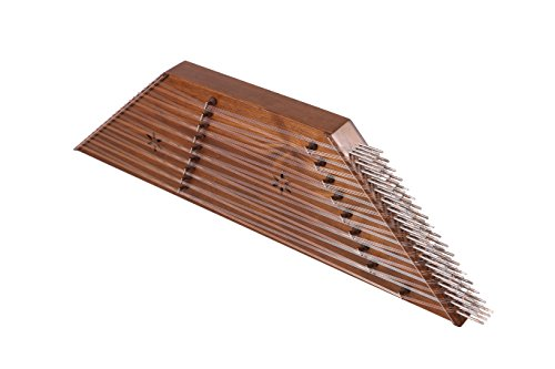 Quality Santoor Santour Santur Dulcimer with hard case and accessories by musicanshop
