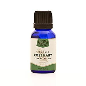 Aroma Foundry Rosemary Essential Oil - 15 ml - 100% Pure & All Natural