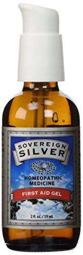 Sovereign Silver, 2 Oz. First Aid Gel