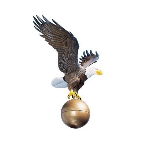 Whitehall Color Medium Flagpole Eagle - 00802
