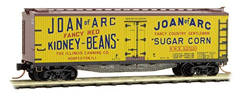 (Micro-Trains MTL N-Scale 40ft Wood Reefer Farm-to-Table #2 Joan of Arc #12520)