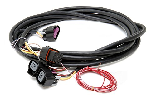- Holley 558-411 Dual Throttle Body Drive-By-Wire Harness for GM